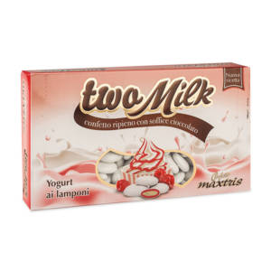 Two Milk Yogurt ai Lamponi